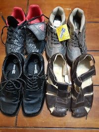 BOYS SHOES SIZE 1 1/2-2 WOODBRIDGE