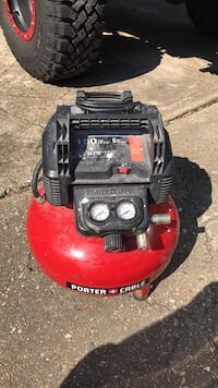 red and black Porter Cable air compressor Virginia Beach, 23455