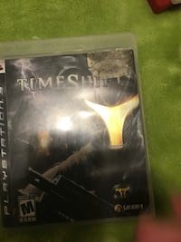 PS3 Console Game; Timeshift