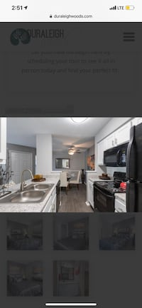 APT For rent 2BR 2BA Raleigh, 27612