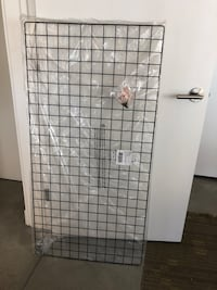 Urban Outfitters WALL HANGING / Wire Black Grid Decoration San Diego, 92101