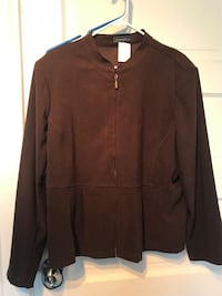 Brown zip-up jacket North Billerica, 01862