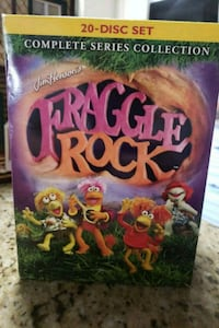 DVD FRAGGLE ROCK COMPLET SERIES COLLECTION 490 mi