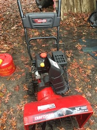 "Craftsman 24"" 208cc 2 stage gas snowblower"