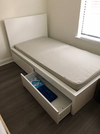 twin bed frame and mattresses, and drawer sets Washington, 20016