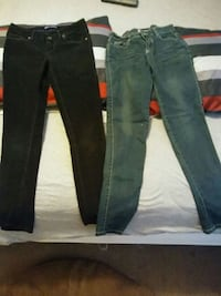 Jeans size 12 in kids 4.00for the set of 2 West Valley City, 84120