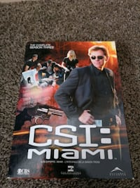 CSI Miami season 3 brand new never watched Ottawa, K1K 4W3