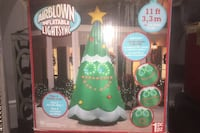 11 Foot Christmas Inflatable Singing Tree Kleinburg, L4H 4A3