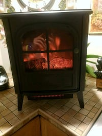 Electric fireplace with heater West Babylon