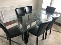 Glass Dining Table and Chairs Mint Hill, 28227