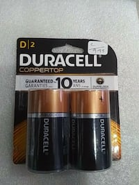 Brand new Duracell D2 battery Markham, L3T 5V1