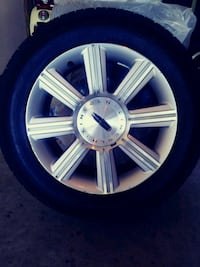 Rims with brand new tires size 17. Hopkins, 29061
