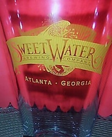 Sweetwater Brewing Company pint glass