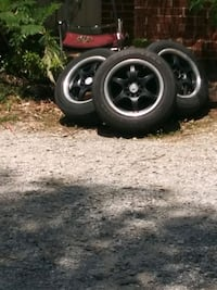 r 15 tires and rims brand new all for are there  Cumming