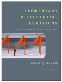 Elementary Differential Equations - 2E Kitchener, N2P 2L8
