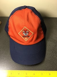Tiger Cub Scout hat Herndon, 20171