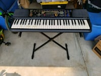 keyboard with stand and damp pedal Talent, 97540