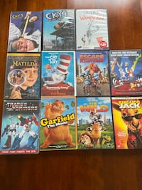 Various Movies Mostly Children's