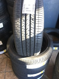 Set 215/45 R17 GOODYEAR EAGLE RS-A NEW 100% life $380 includes professional installation and tax. Whittier, 90605