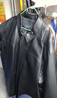 2 new men's leather jacket size 4X never been worn.20 each