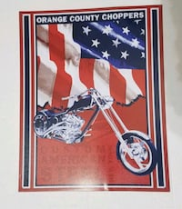 Orange County Choppers tin sign  Hagerstown, 21742