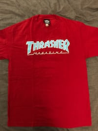 Thrasher red t shirt  Toronto, M2K 2E9