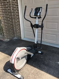 White and black elliptical trainer Brampton, L6Y 1S1