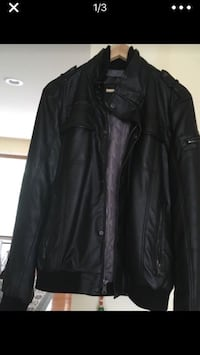 Calvinklein men's leather jacket Herndon, 20171