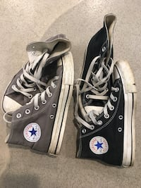 2 pairs of Converse shoes Mission