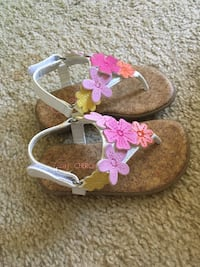 pair of brown-and-pink sandals 西哥伦比亚, 29169