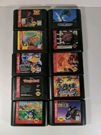 SEGA Genesis Game Lot Tested Working Little Falls, 07424