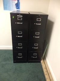 Black metal filing cabinets Deerfield Beach, 33441