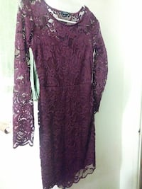 Burgandy dress Ontario, 91762