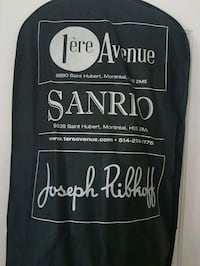 black and white printed crew neck shirt Saint-Bruno-de-Montarville, J3Z