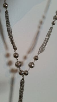 SILVER TONE MULTILAYERS  CHAINS WITH ROUND DISCS Oshawa, L1K 0B9