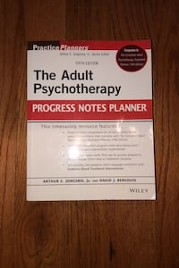 The Adult Psychotherapy Progress Notes Planner Lorton, 22079