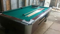 green and brown billiard pool table set Fort Wayne, 46808
