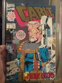 cable 1st issue collector's item comic