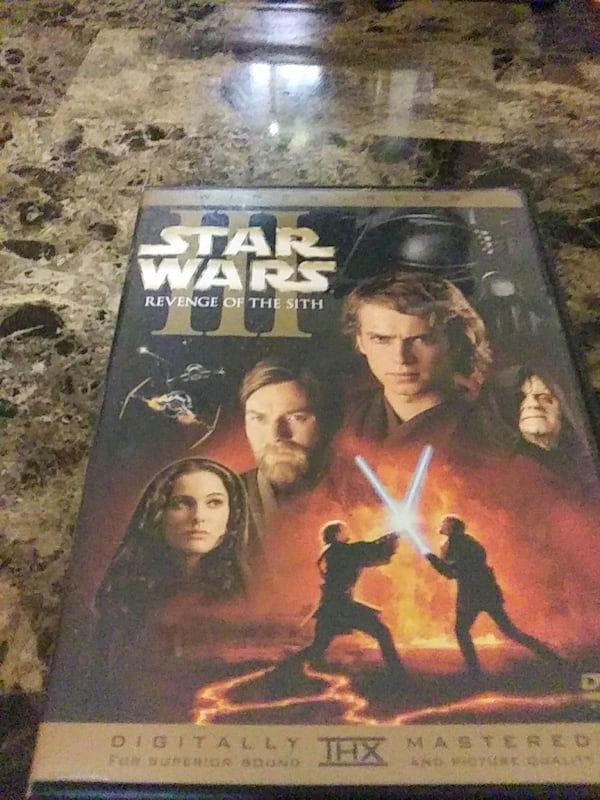 Used Star Wars Revenge If The Sith For Sale In Winder Letgo
