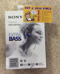 SONY HEADPHONES MDR-XB50BS Toronto, M1H 2A4