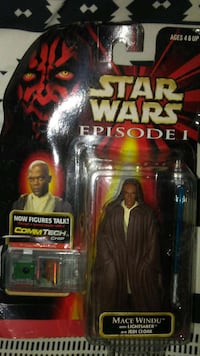 Star Wars Mace Windu action figure box
