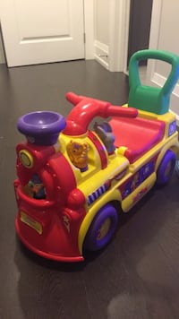 Toddler ride one toy car