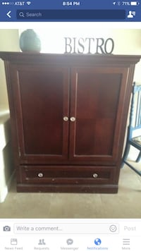 brown armoire Las Vegas, 89129