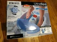 Homedics Ultraspa Foot Bubbler with Pedicure Cente Falls Church, 22041