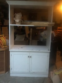 white wooden cabinet with hutch Mooresville, 28115