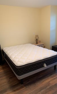 Box Spring and Matress (Queen Size)