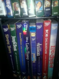 Dvds vhs blue ray