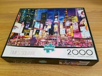 2000 pc puzzle, time square Charlottesville, 22901