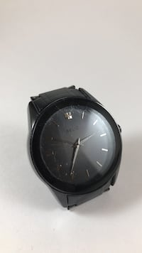 Relic wrist watch black men's Vienna, 22180