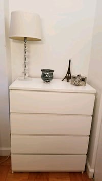 2 * IKEA Malm White 4 drawer  Washington, 20024
